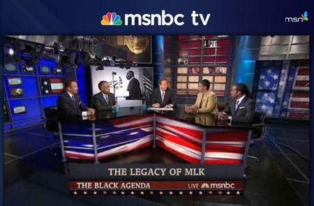 Msnbc the black agenda