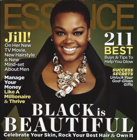 Jill Scott Essence Cover