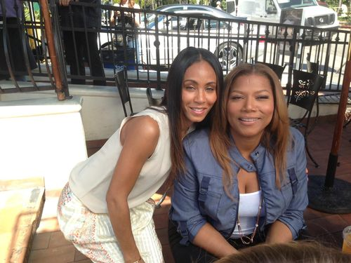 Jada Pinkett Smith and Queen Latiffah