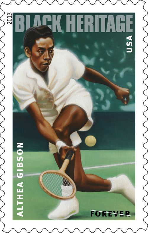 Althea Gibson Forever Postage Stamp